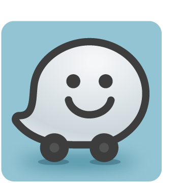 Open in Waze App